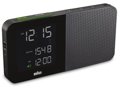 black friday braun bnc010bk rc digital alarm clock radio. Black Bedroom Furniture Sets. Home Design Ideas