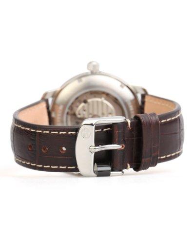 Zeppelin Herren-Armbanduhr XL LZ127 Graf Analog Automatik Leder 76565 5