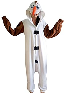Ninimour- Pajamas Anime Costume Adult Animal Cosplay (M, Olaf)