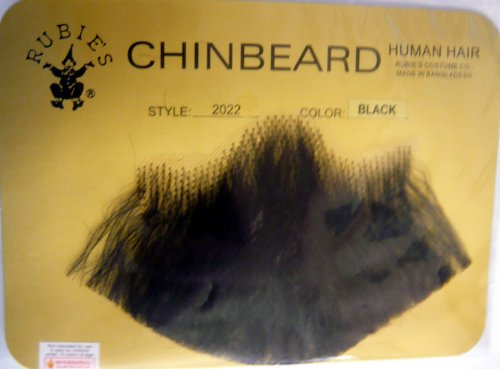 Human Hair Goatee Chin Beard Costume Beard 2022