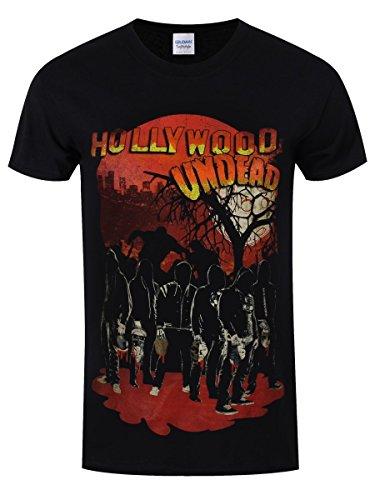 Plastic Head Hollywood Undead Faceless Horror-T-shirt Uomo    nero XL