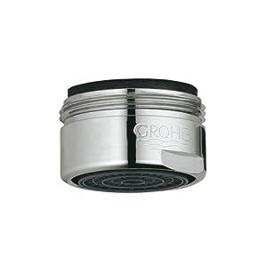 amazon com grohe 13941000 starlight chrome kitchen faucet