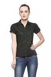 Fasnoya Women's Formal Shirt-M