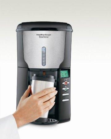 Hamilton Beach 47665 BrewStation Plus 12-Cup Automatic Drip Coffeemaker