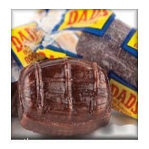 Washburn Dad's Wrapped Root Beer Barrels, 2.5Lb (Dads Root Beer Barrels compare prices)