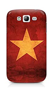 Amez designer printed 3d premium high quality back case cover for Samsung Grand Neo Plus (Star surface paint)