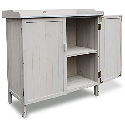 Habau Gartentisch Lino, grau, 98 x 48 x 95 cm, 3095 von Habau auf Gartenmöbel von Du und Dein Garten
