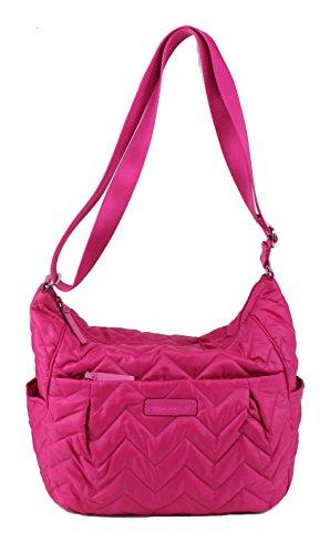 Vera Bradley Puffy Crossbody Baby Bag in Fuchsia
