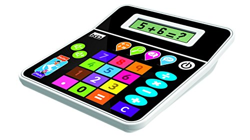 Kidz Delight Tech Too Bilingual Calculator, Black