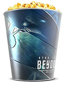 Star Trek: Beyond Movie Theater Exclusive 130 oz Metal Popcorn Tin-Green