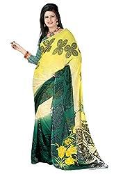 Pruthu Printed Fashionable Georgette Saree