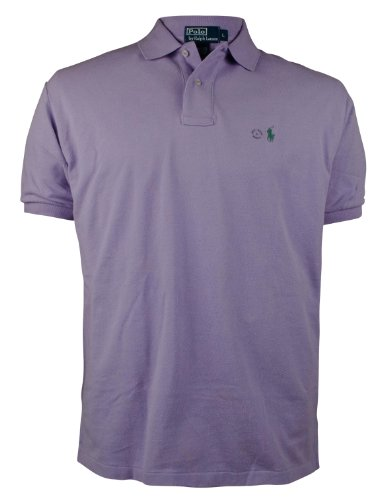 Polo Ralph Lauren Men'S Classic-Fit Short-Sleeved Mesh Polo Shirt-L-L