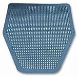 "Impact IMP 1525 17-1/2"" Width, 20-3/8"" Depth Disposable Washroom Floor Mat For Urinal"