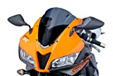 Puig 4356F Racing Screen for Honda CBR600RR 2007-2012, Dark Smoke, Medium