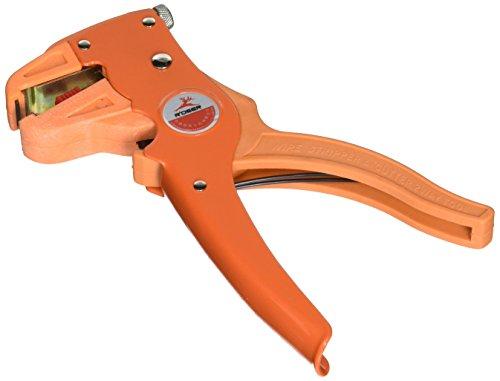 Pinza spelafili e tagliafili arancio,attrezzo manuale 2 in 1 per elettricisti