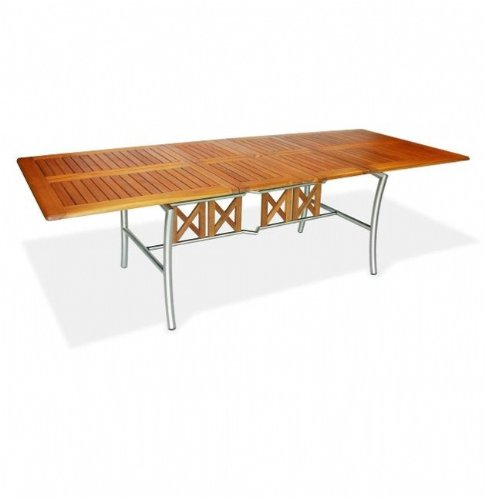 Livorno Rectangular Extension Garden Furniture Table - FREE UK Mainland Delivery