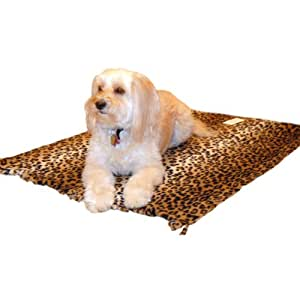 Pedigree Perfection DB702-XL-LPD My Blankie Leopard Polarctic Fleece Blanket for Your Pet, X-Large