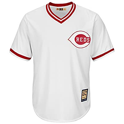 Cincinnati Reds White Replica Cool Base 1978 Cooperstown Jersey by Majestic