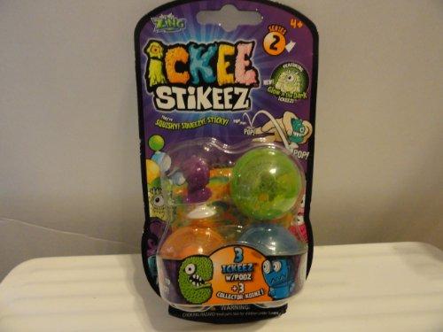 Ickee Stikeez Series 2 - 3 Ickeez - 1