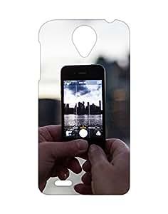 Mobifry Back case cover for Lenovo S820 Mobile (Printed design)