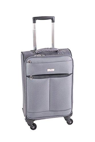 Pianeta Trolley baule valigia, trolley da viaggio bagaglio per il viaggio (grigio M)
