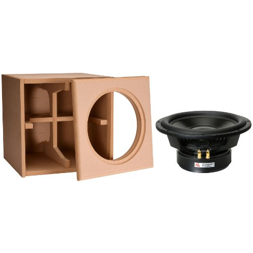 """Dayton Audio 12"""" Reference Series Ho Subwoofer And Cabinet Package"""