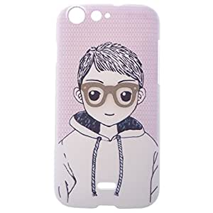 Generic Micromax Canvas 4 A210 Boy Designer Back Cover