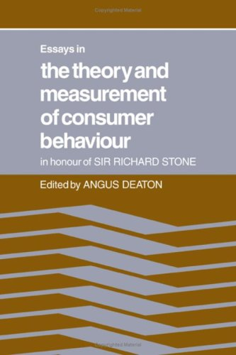 essays on the theory and measurement of consumer behavior Consumer Behavior Theory