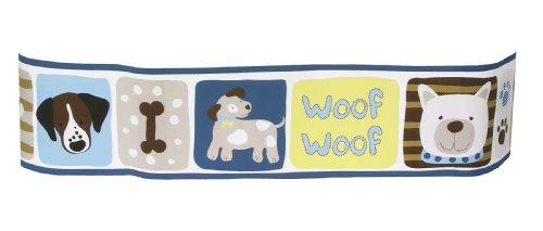 Sumersault Woof Woof Wallborder, Blue