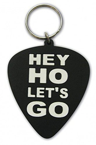 Ramones - Hey Ho, Let's Go - Plectrum Portachiave (6 x 4cm)