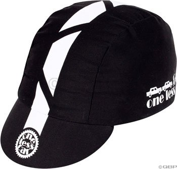 Buy Low Price Pace Sportswear One Less Car cycling cap, black/white – one size (15-0010)