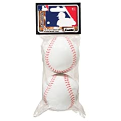 Buy Franklin Sports MLB Replacement Foam Balls 2 pk No. 14941 by Franklin Sports