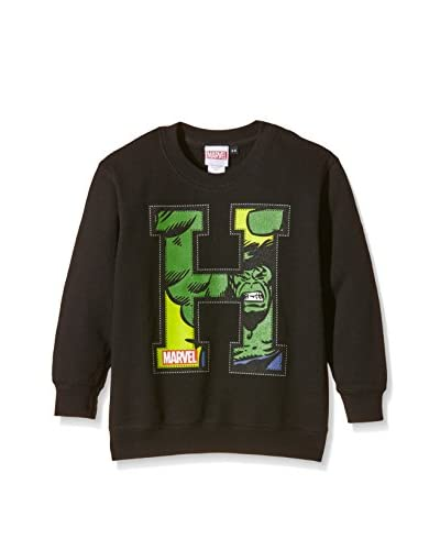 MARVEL Sudadera Applique Hulk