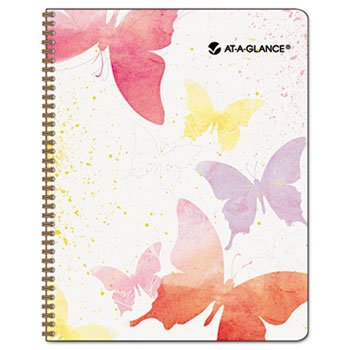 Recycled Watercolors Monthly Planner, Design, 6 7/8″ x 8 3/4″, 2012-2013