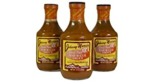 Amazon.com : Georgia Peach 3 Pack : Barbecue Sauces : Grocery ...