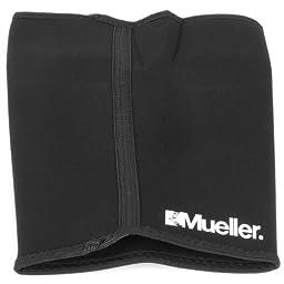 Mueller Thigh Sleeve Neoprene, Black, Large