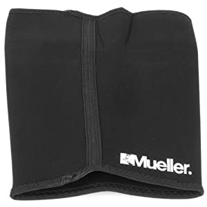 Mueller Thigh Sleeve Neoprene, Black, Medium
