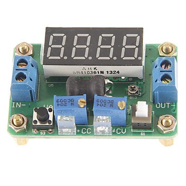 Luo Jtron Dc4.5~24V To Dc 0.9~20V Constant Voltage And Current Buck W/ 4-Digit Red Led Display