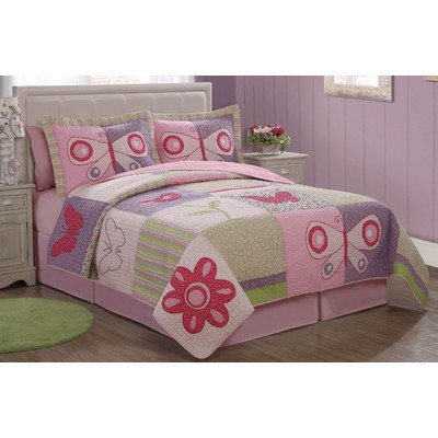 Butterfly Twin Bedding 178579 front