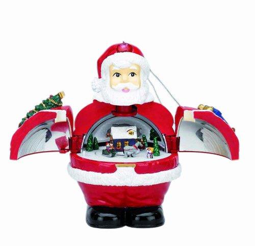 """Spieluhrenwelt 17061 Christbaumschmuck Santa"""""""