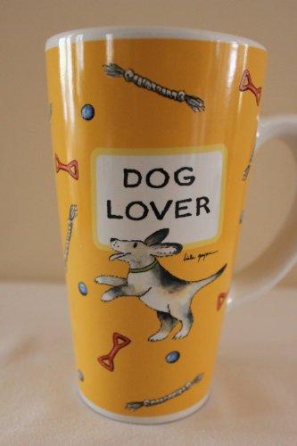 "Tumbleweed Pottery-Pet Latte Mug-""Dog Lover"""