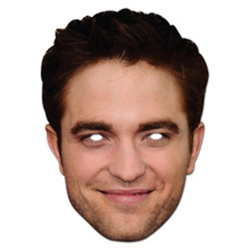 Mask-Arade High Quality Cardboard Robert Pattison Mask