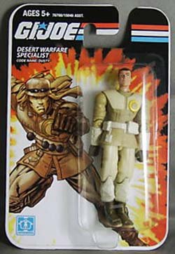 "GI Joe Real American Hero 3.75"" DUSTY Action Figure Wave 01 [Toy]"