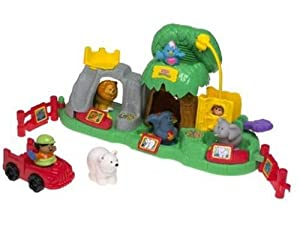 Fisher-Price Little People Animal Sounds Zoo, Action & Toy Figures ...