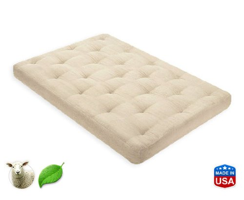 3 Inch Pure Wool Mattress Twin Xl By Comfort Pure front-1063602