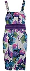 2-Hip by Wrapper Big Girls' Pleated Floral Pocket Dress