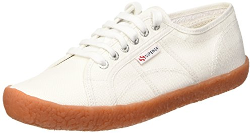 Superga 2750-Nakedcotu Scarpe Low-Top, Unisex adulto, Bianco, 38