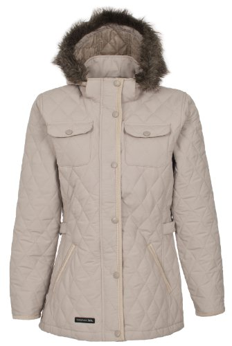 Trespass Women's TRUDEY Jacket - Mushroom, Large