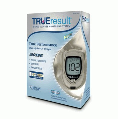Image of TRUEresult Blood Glucose Monitoring System (B007CLRD3W)