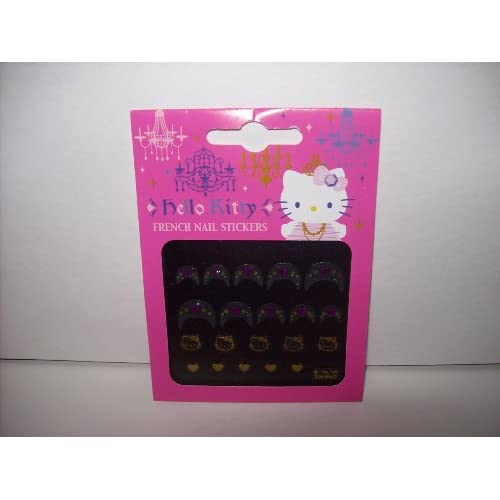 Hello Kitty French Manicure Nail Art Stickers